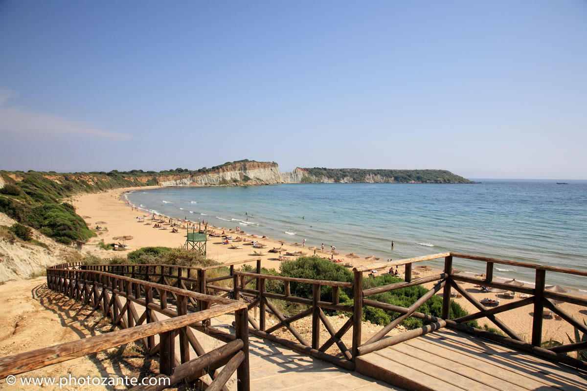 Gerakas beach, just 1 km from Lithies farm houses